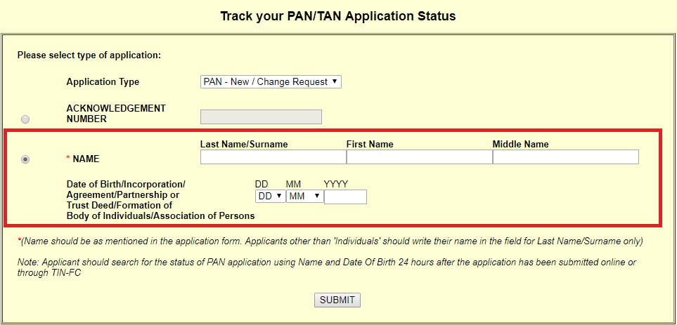 Check-PAN-Card-Status-by-Name-and-Date-of-Birth Tan Application Form Pdf Nsdl on financial statement pdf, costco application pdf, application form design, fill out application pdf, blank employment application pdf, application form excel, out of order sign pdf, application form graphics, application form online, birth certificate pdf, application form print, application form word document,
